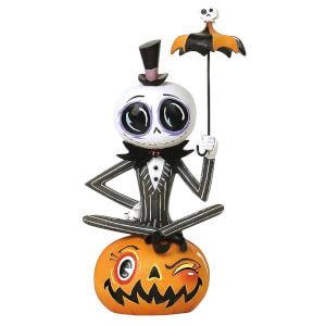 Disney Miss Mindy Nightmare Before Christmas Jack Skellington Statue - 18 cm