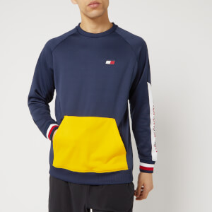 Tommy Hilfiger Sport Men's Crew Neck Sweatshirt - Sport Navy