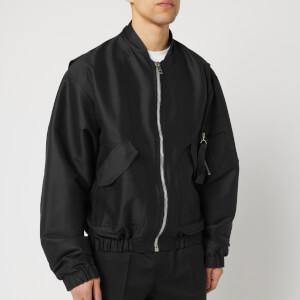 Matthew Miller Men's MM2 Wool Bomber Jacket - Black