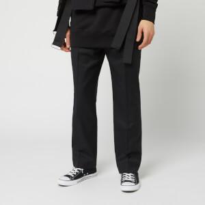 Matthew Miller Men's Serena Cropped Trousers - Black