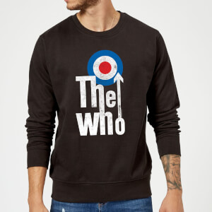 The Who Target Logo Sweatshirt - Schwarz