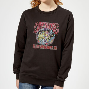 Guns N Roses Illusion Tour Women's Sweatshirt - Black