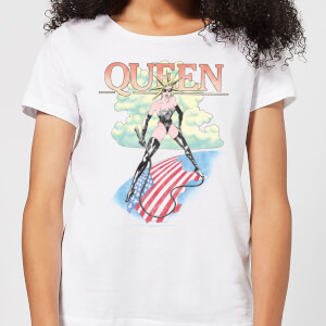 Queen Vintage Tour Women's T-Shirt - White