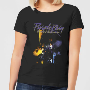 Prince Purple Rain Women's T-Shirt - Black