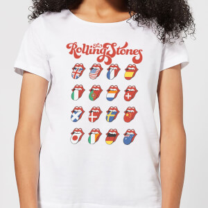 Rolling Stones International Licks Women's T-Shirt - White