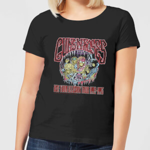 Guns N Roses Illusion Tour Damen T-Shirt - Schwarz