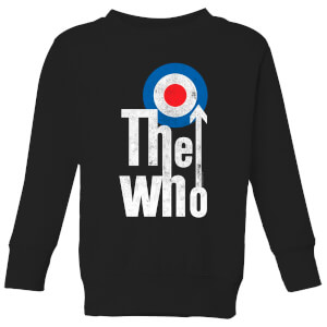 The Who Target Logo Kinder Sweatshirt - Schwarz