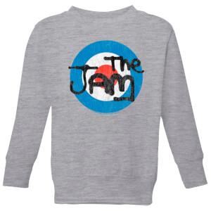 The Jam Target Logo Kids' Sweatshirt - Grey