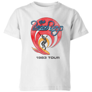 The Beach Boys Surfer 83 Kids' T-Shirt - White