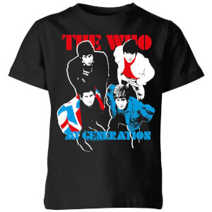 The Who My Generation Kids' T-Shirt - Black