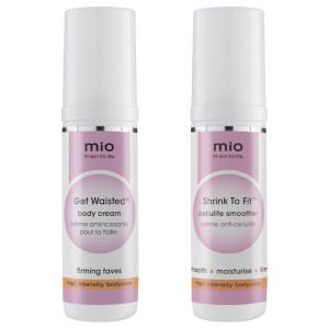 Mio Skincare Get Waisted and Shrink to Fit Travel Size Bundle (Worth $33.00)