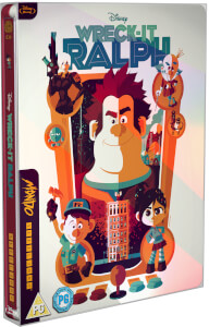 Wreck it Ralph - Mondo #34 Zavvi UK Exclusive Limited Edition Steelbook