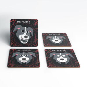 Mr Pickles Heads Coaster Set
