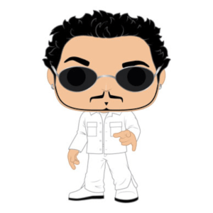 Pop! Rocks Backstreet Boys AJ McLean Funko Pop! Figuur