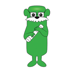 Otter Pops - Sir Isaac Lime Pop! Vinyl Figur