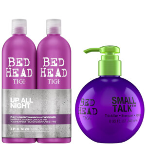 TIGI Bed Head Massive Volume Shampoo, Conditioner and Styling Cream Set