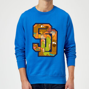 Scooby Doo Collegiate Sweatshirt - Royal Blue