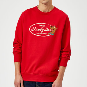 Scooby Doo Cola Sweatshirt - Red
