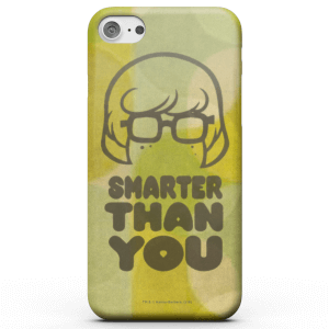 Coque Smartphone Smarter Than You - Scooby Doo pour iPhone et Android