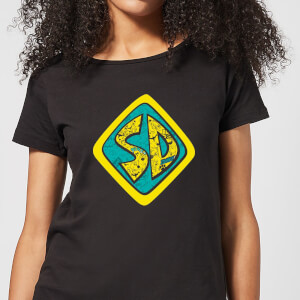 Scooby Doo Emblem Women's T-Shirt - Black