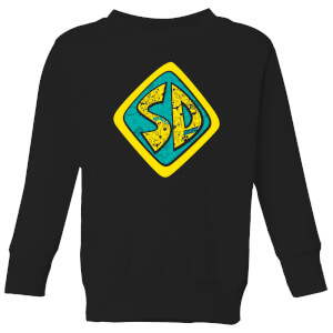 Scooby Doo Emblem Kids' Sweatshirt - Black