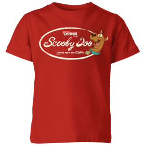 Scooby Doo Cola Kids' T-Shirt - Red