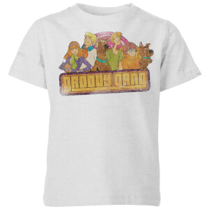 Scooby Doo Groovy Gang Kids' T-Shirt - Grey