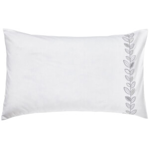Helena Springfield Petal Standard Pillowcase - White
