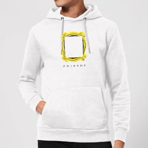 Friends Frame Hoodie - White