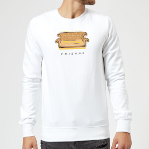 Friends Couch Sweatshirt - White