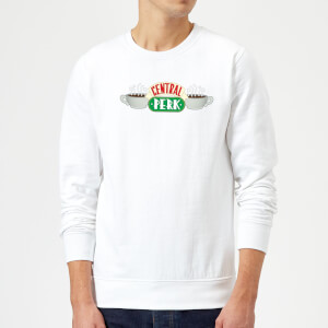 Friends Central Perk Sweatshirt - White
