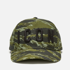 Dsquared2 Men's Icon Cap - Military/Black