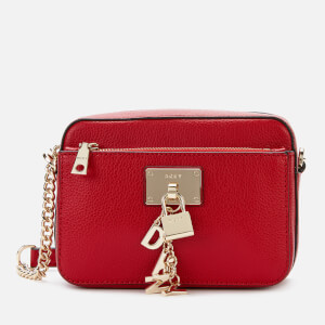 DKNY Women's Elissa TZ Cross Body Bag - Bright Red