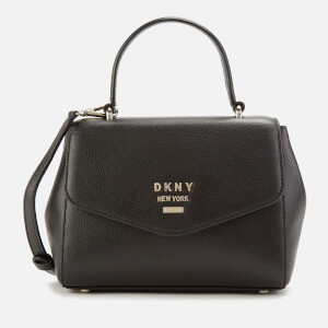 DKNY Women's Whitney Small Th Satchel Bag - Black