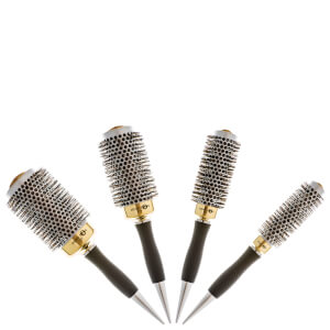 Head Jog Gold Thermal Brush Set