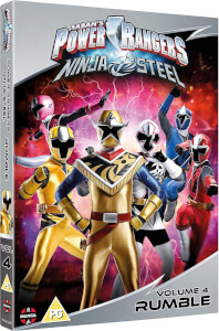 Power Rangers Ninja Steel: Rumble (Volume 4) Episodes 13-16 & Halloween