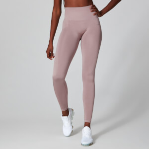 Myprotein Metallic Shape Seamless Leggings - Fawn