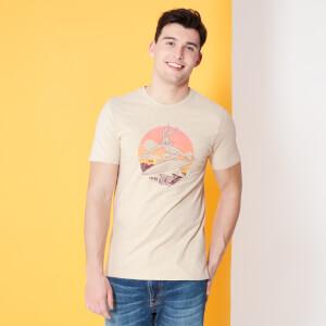 Looney Tunes Kaboom ! Bugs Bunny Surf T-shirt - Beige