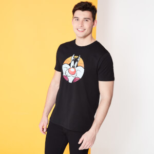 Looney Tunes Kaboom ! Grosminet T-shirt - Noir