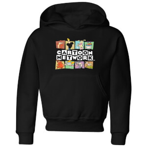 Cartoon Network Logo Characters Kids' Hoodie - Black