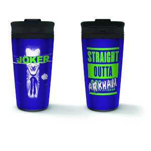 Joker (Arkham) Metal Travel Mug