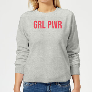 GRL PWR Women's Sweatshirt - Grey