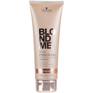 Schwarzkopf Blondme Tone Enhancing Bonding Shampoo Warm Blondes