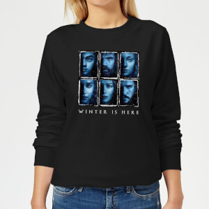 Game of Thrones Winter Is Here Faces dames trui - Zwart