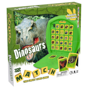 Top Trumps Match Board Game - Dinosaurs Edition