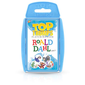 Top Trumps Card Game - Roald Dahl 2 Edition