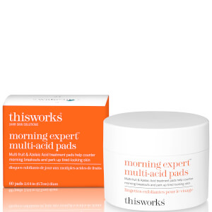 thisworks 晨间专家多酸亮肤贴 | 60 贴