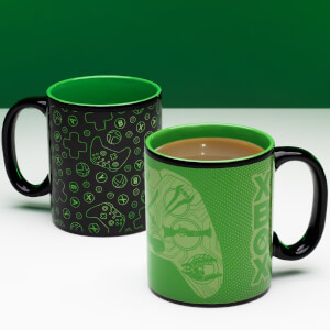 Taza termosensible Xbox