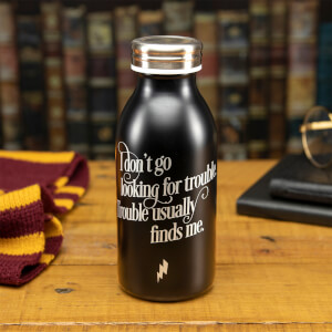 Harry Potter Trouble Water Bottle from I Want One Of Those