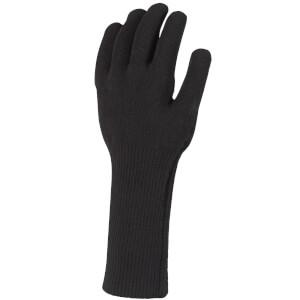 Sealskinz All Weather Ultra Grip Knitted Gauntlet - Black